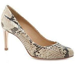 Antonio Melani Paton Leather Snake Skin Heel 8